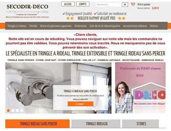 secodir-deco.com screenshot
