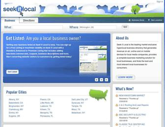 Thumbshot of Seekitlocal.com