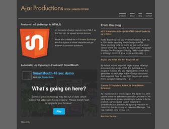 ajarproductions.com screenshot