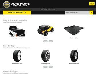 autopartsnetwork.com screenshot