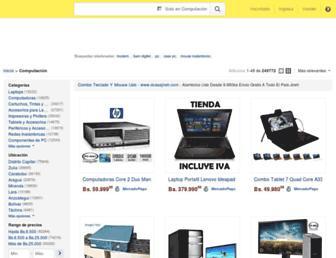 computacion.mercadolibre.com.ve screenshot