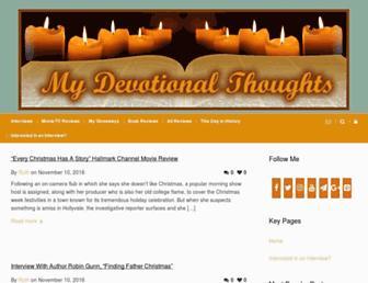 mydevotionalthoughts.net screenshot