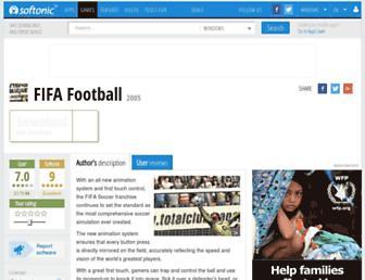 fifa-football.en.softonic.com screenshot
