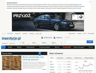 inwestycje.pl screenshot