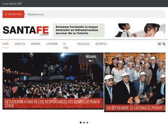 santafe.com.ar screenshot