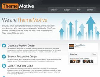 thememotive.com screenshot