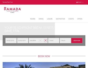 ramadaplaza-tunis.com screenshot
