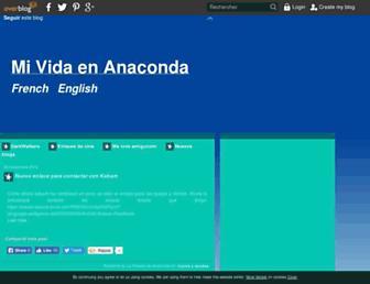 mividaenanaconda.over-blog.es screenshot
