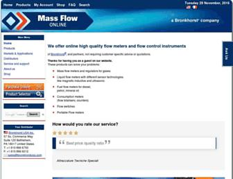 massflow-online.com screenshot