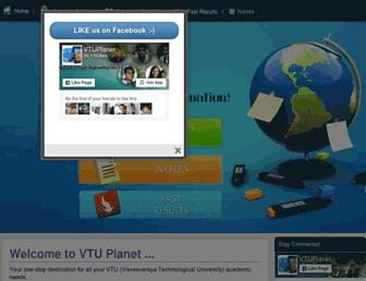 vtuplanet.com screenshot