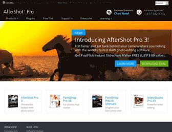 aftershotpro.com screenshot