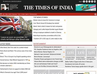 articles.timesofindia.indiatimes.com screenshot