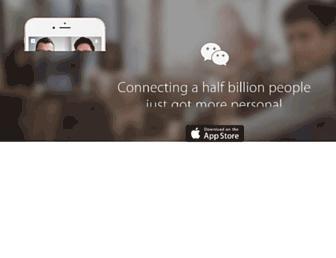 Thumbshot of Wechat.com