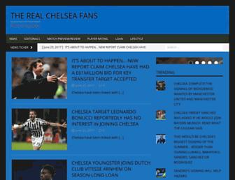 therealchelseafans.com screenshot
