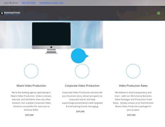 bonomotion.com screenshot