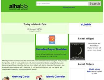 Thumbshot of Al-habib.info