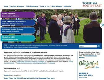 tourismsoutheast.com screenshot