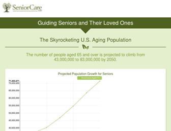 seniorcare.com screenshot