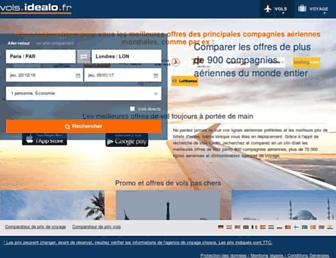 vols.idealo.fr screenshot