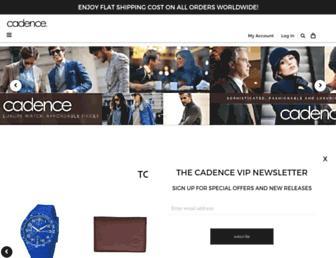 Thumbshot of Cadencewatch.com