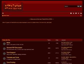 fretsonfire.org screenshot