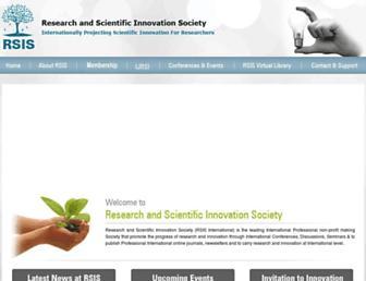 rsisinternational.org screenshot