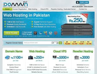 Thumbshot of Domain.pk