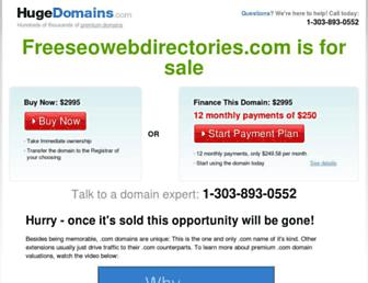Thumbshot of Freeseowebdirectories.com