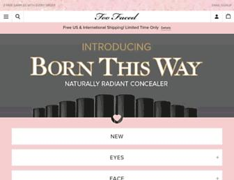 Thumbshot of Toofaced.com