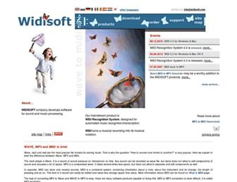 Thumbshot of Widisoft.com