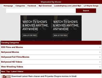 movies.waploaded.ng screenshot