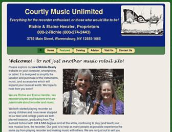 courtlymusicunlimited.com screenshot