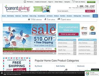 parentgiving.com screenshot