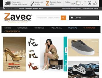 zavec.com.ec screenshot