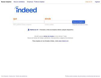indeed.com.mx screenshot