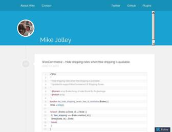 Thumbshot of Mikejolley.com