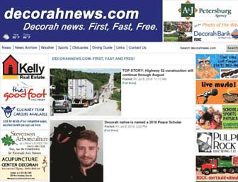 decorahnews.com screenshot