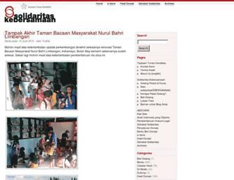 Main page screenshot of tunascendekia.org