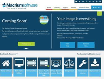 macrium.com screenshot