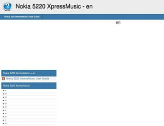 nokia-5220-xpressmusic.helpdoc.net screenshot