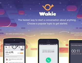 Thumbshot of Wakie.com