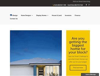 smarthomesforliving.com.au screenshot