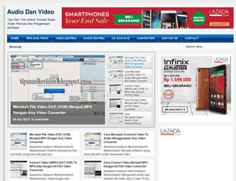 tipsaudiovideo.blogspot.com screenshot