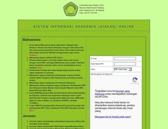 siakad.uin-malang.ac.id screenshot