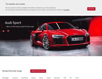 Thumbshot of Audi.co.uk