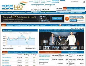 Thumbshot of Bseindia.com