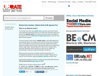 Thumbshot of Urlrate.com