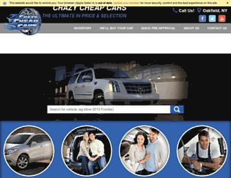 crazycheapcars.com screenshot