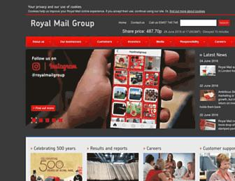 Thumbshot of Royalmailgroup.com