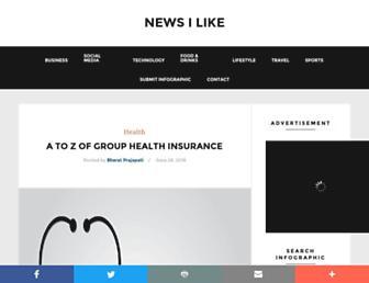 newsilike.in screenshot